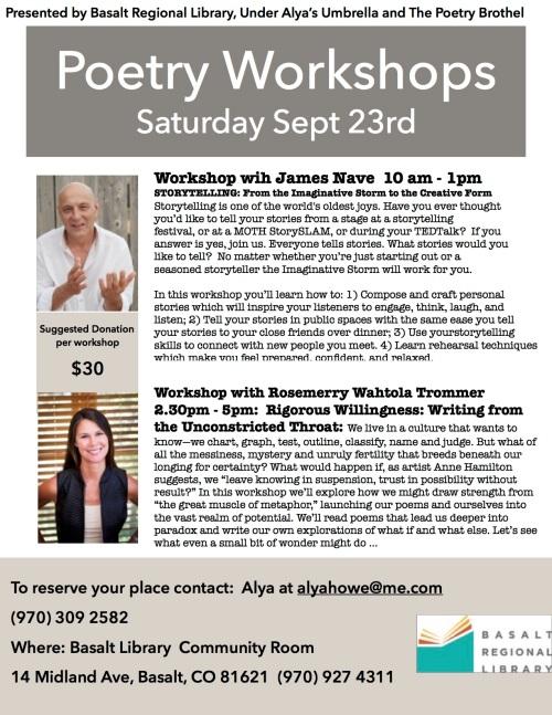 Aspen Poetry Workshop